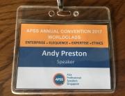 APSS Badge