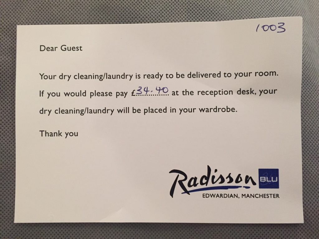 Radisson Dry Cleaning